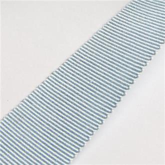 Ripsband hellblau, 405 cm Reststück