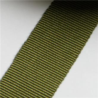Ripsband tanne, 355 cm Reststück , 2 Stücke 300cm + 55cm