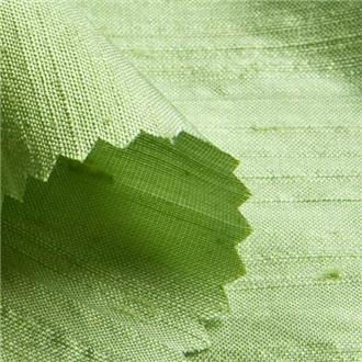 Shantung silberweide, 140 cm Reststück mit 10 cm Webfehler nach ca. 50 cm