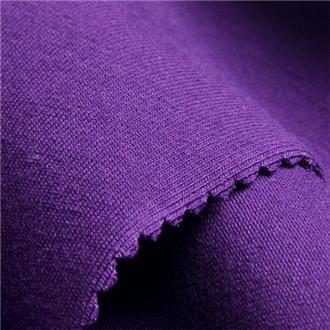 Single violett, 135 cm Reststück mit mittig-gelegenen Flecken