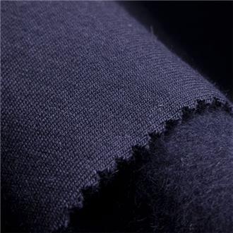 Sommersweat dunkelblau, 70 cm Reststück