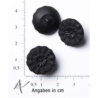 """Spitzenblüte schwarz 28"""""""