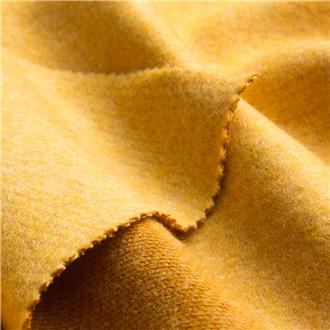 Strickflausch gelb