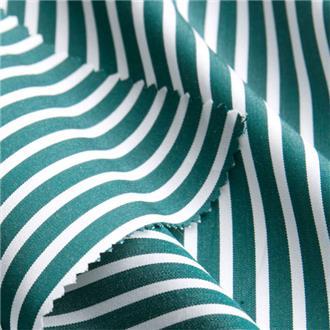 Striped green, 240 cm Reststück