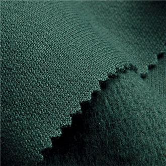 Sweat dunkelgrün, 90 cm Reststück