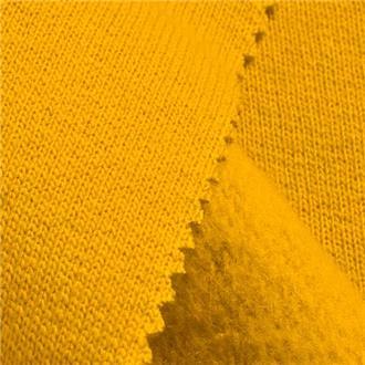 Sweat gelb, 70 cm Reststück