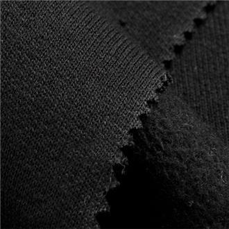 Sweat schwarz, Reststück 45 cm