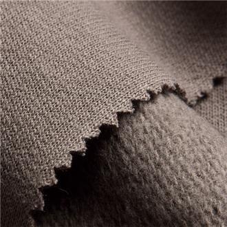 Sweat taupe, 50 cm Reststück