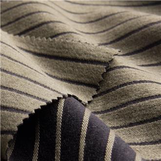 Velvetstripe khaki