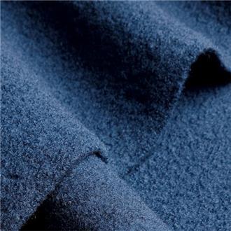 Walk blu 2, 180 cm Reststück mit Filzfehlern und Beschriftung (s. Beschreibung)