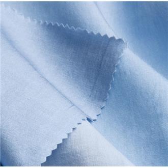 Waschseiden-Satin hellblau