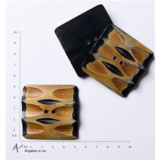 Wasserbüffel-Horn Dekor 3