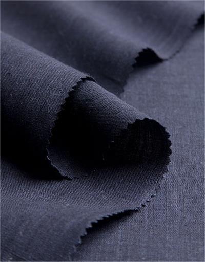 blue lein gewebe meterware leinen dunkelblau. Black Bedroom Furniture Sets. Home Design Ideas