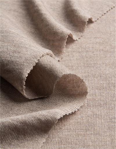 merino feinjersey sand strickstoff meterware wolle beige ital anita pavani stoffe. Black Bedroom Furniture Sets. Home Design Ideas
