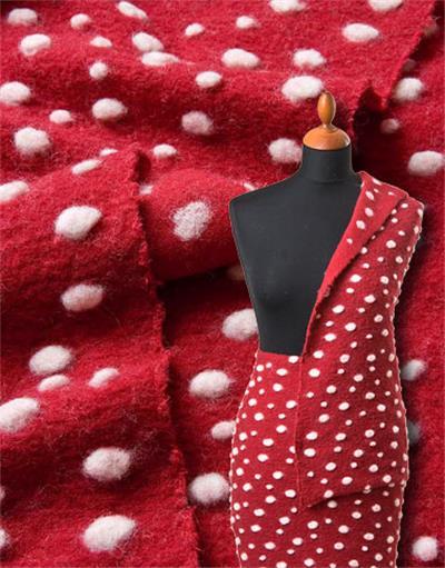 punti amanita strickstoff meterware baumwolle wolle rot bio anita pavani stoffe. Black Bedroom Furniture Sets. Home Design Ideas