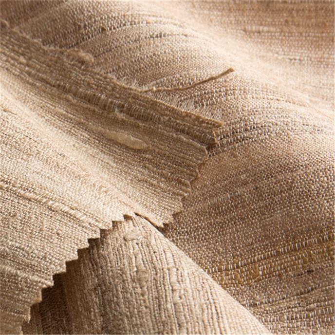 Raumgestaltung Farbe Beige Anthrazit Braun Raumgestaltung: Ludhiana, Gewebe (Meterware), Seide, Beige-braun, Natur
