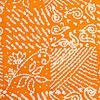Sommerbatik orange 2, Reststück 120 cm