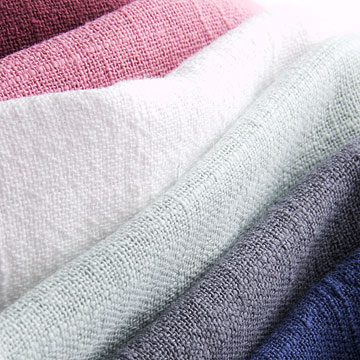 Slub yarn cotton fabrics