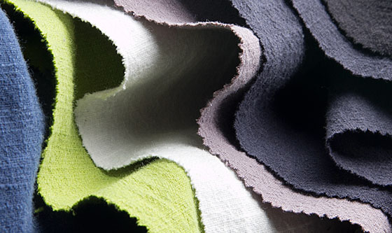 Ramie Fabrics Colored